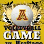 Boys Volleyball defeat Heritage