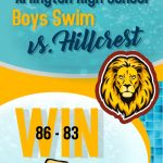 Boys swim defeat Hillcrest