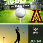 Boys Golf beat Valley View