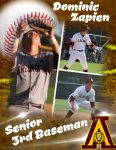 Senior Shout Out! Dominic Zapien – Baseball