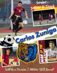 Senior Shout out! Carlos Zuniga – Soccer and Track