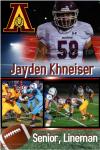 Senior Shout Out! Jayden Khneiser – Football, Wrestling and Track