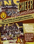 Interested in Cheer? Fill out the interest link, connect with our new Cheer Advisor, Coach Ching.