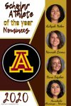 Female Scholar Athlete of the Year Nominees