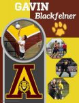 Senior Shout Out! Gavin Blackfelner – Cross Country, Track & Field and Volleyball