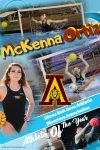 McKenna Ortiz; Citrus Belt Area Athletic Director Association Female Athlete of the Year.
