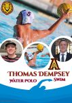 Senior Shout Out! Tom Dempsey – Water Polo and Swim