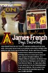 Interim Head Coach – James (Donald French) to lead the Lions this season