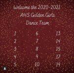 Congrats to the Golden Girls 2020 -2021 Dance Team