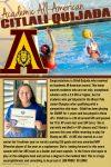 Congratulations to Citlali Quijada, Academic All-American