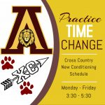 Cross Country time change