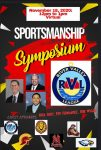 Sportsmanship Symposium  – November 18th 12:00 – 1:00 Virtual