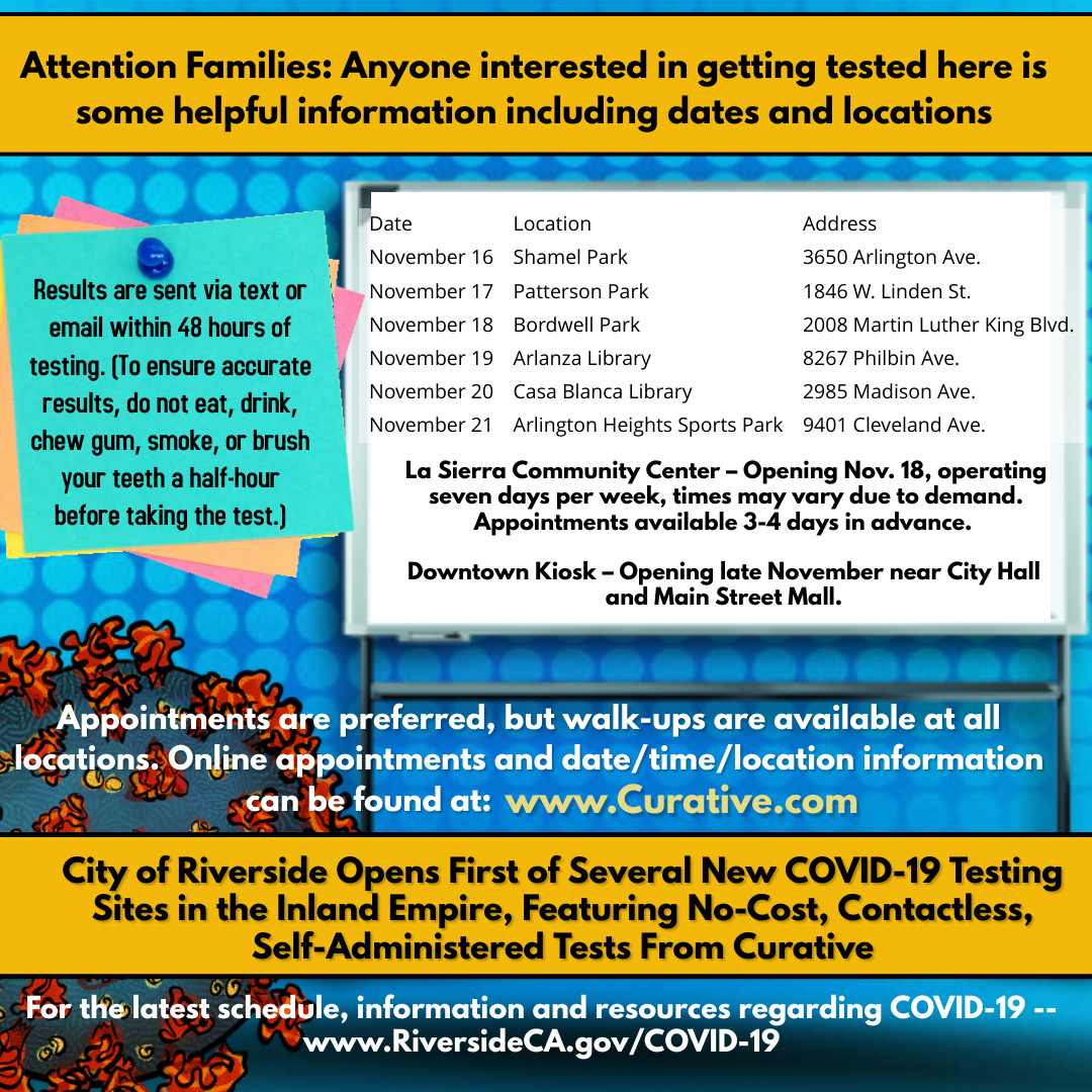 Information about COVID Testing in the Community