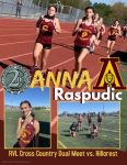 Arlington Girls Cross Country compete against Hillcrest in 2nd RVL Dual Meet.