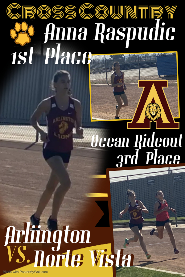 First Place Overall  – Anna Raspudic with a personal best time.
