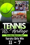 Girls Tennis WIN again!