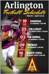 Football set to play their RVL Schedule