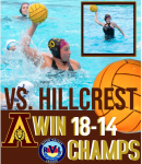 RVL Champions 5-0 Girls Water Polo