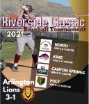 Baseball starts off in Riverside Classic 3-1