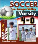 Boys Soccer Defeat Jurupa Valley 4-0