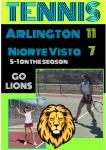 Tennis defeats Norte Vista in first round of RVL Play  – 11-7