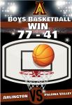 Boys Basketball, Strong Start – Win over Paloma Valley 77-41