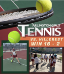 Tennis now 6-1 with a Win over Hillcrest
