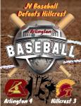 JV Baseball Team Defeats Hillcrest 4-3