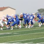 JV Football vs. East Aug. 23, 2018