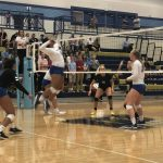 Miners Volleyball defeats Westlake
