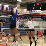 Volleyball sweeps Timpview