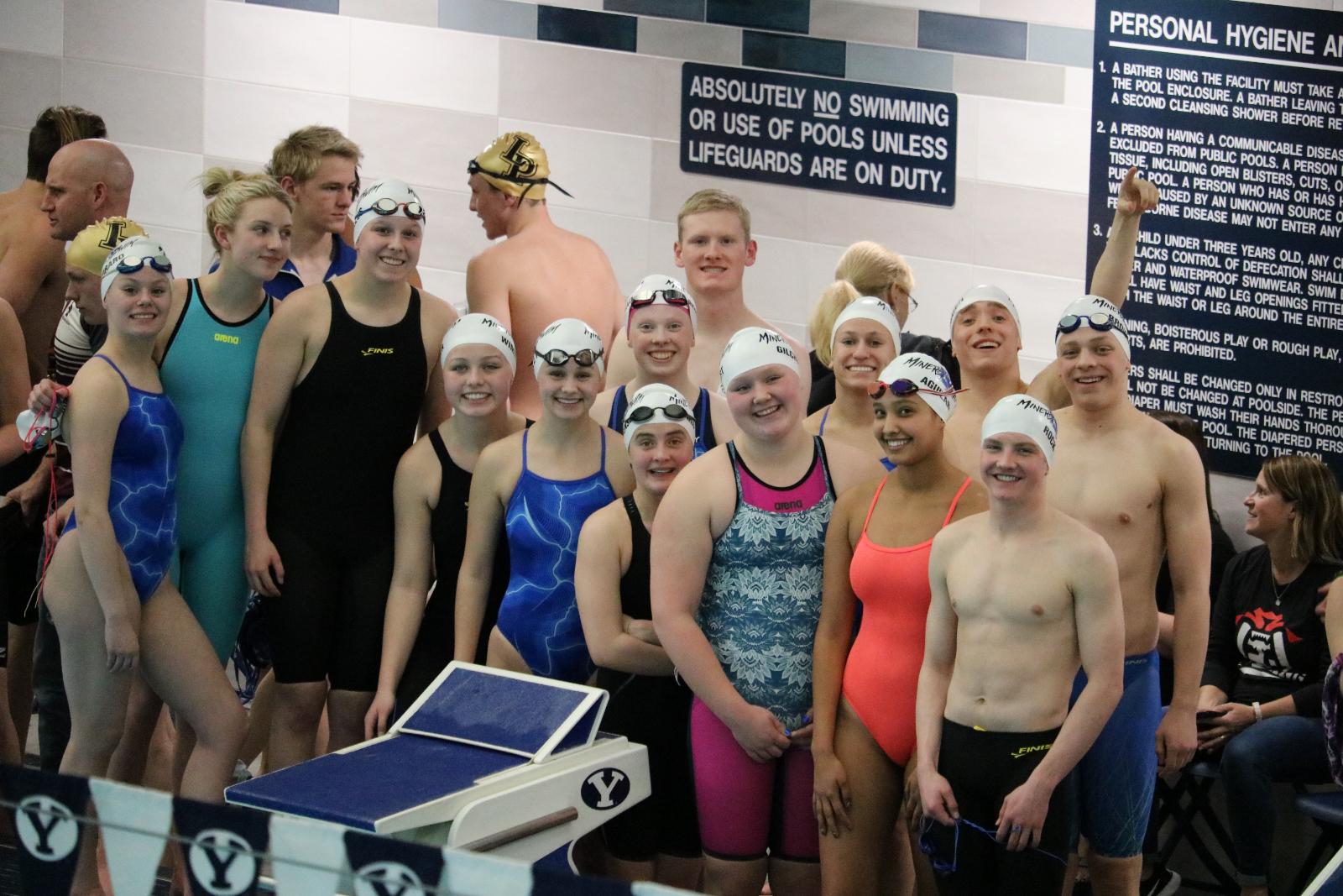 Swimmers Cap Season with Strong Showing at State