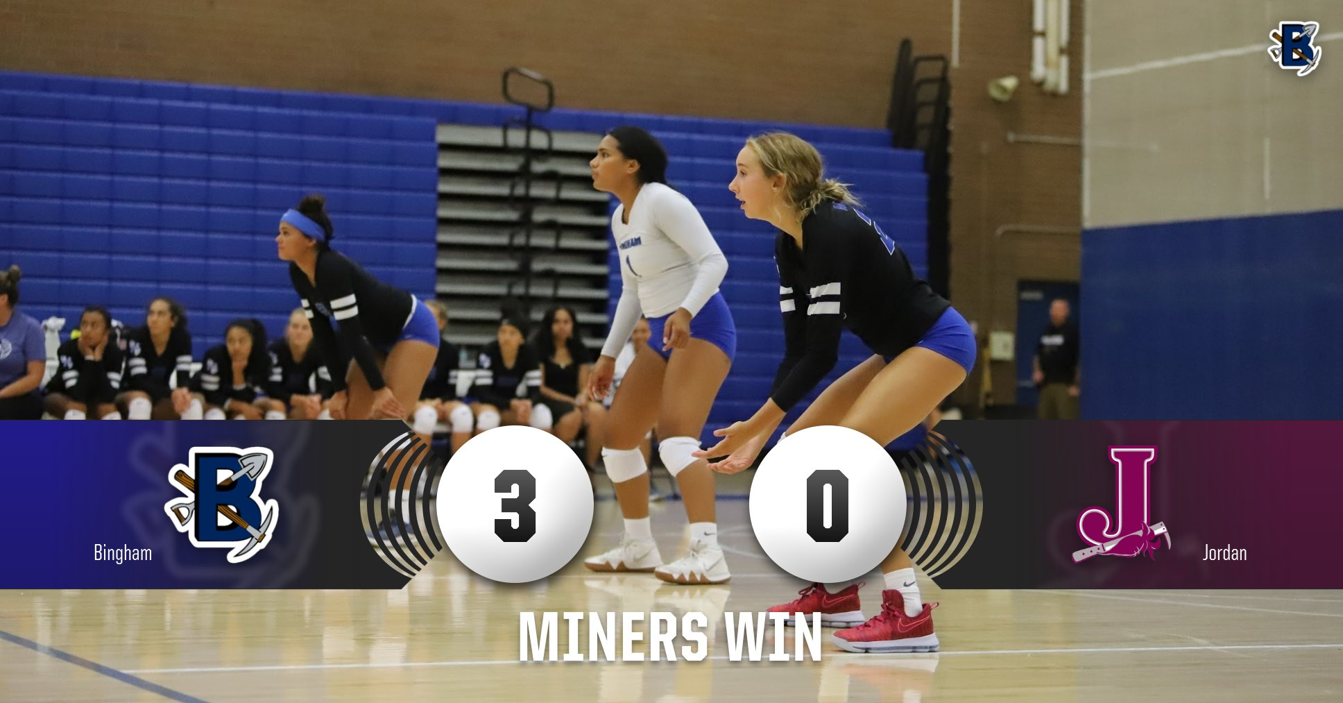 Miners defeat Beetdiggers in straight sets