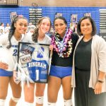 2019 Volleyball Senior Night