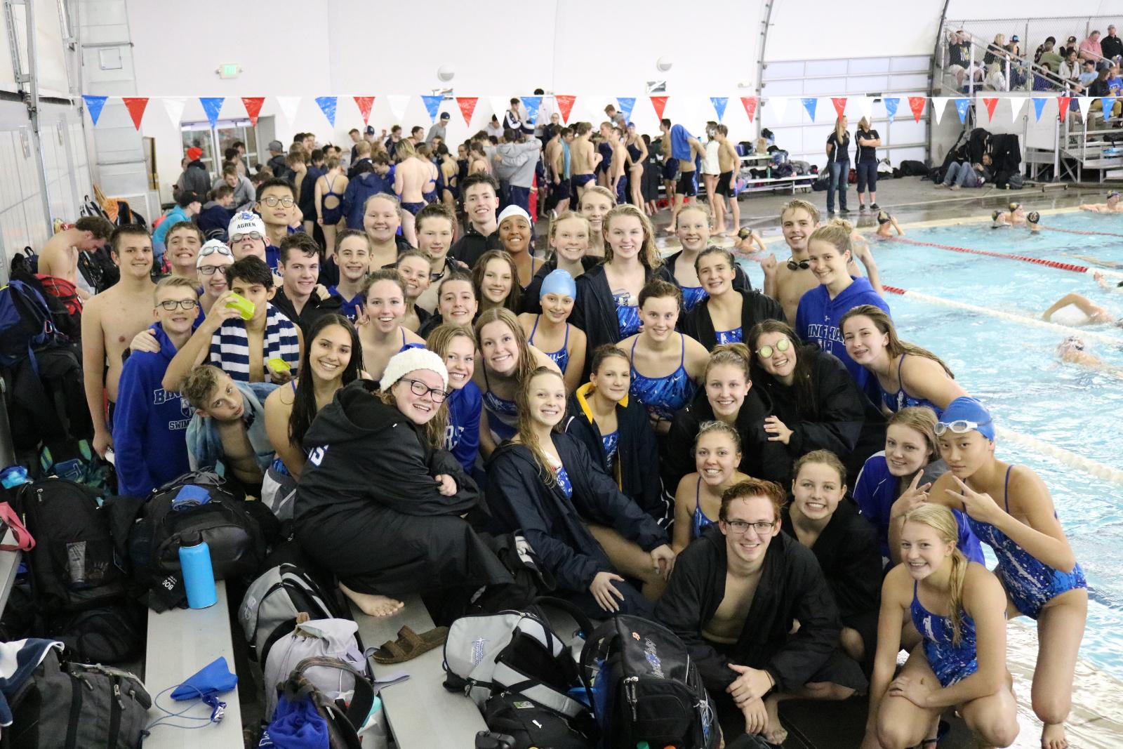 Bingham Swimmers Impress in Season Opener