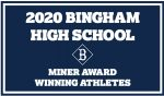 Miner Award Winning Athletes