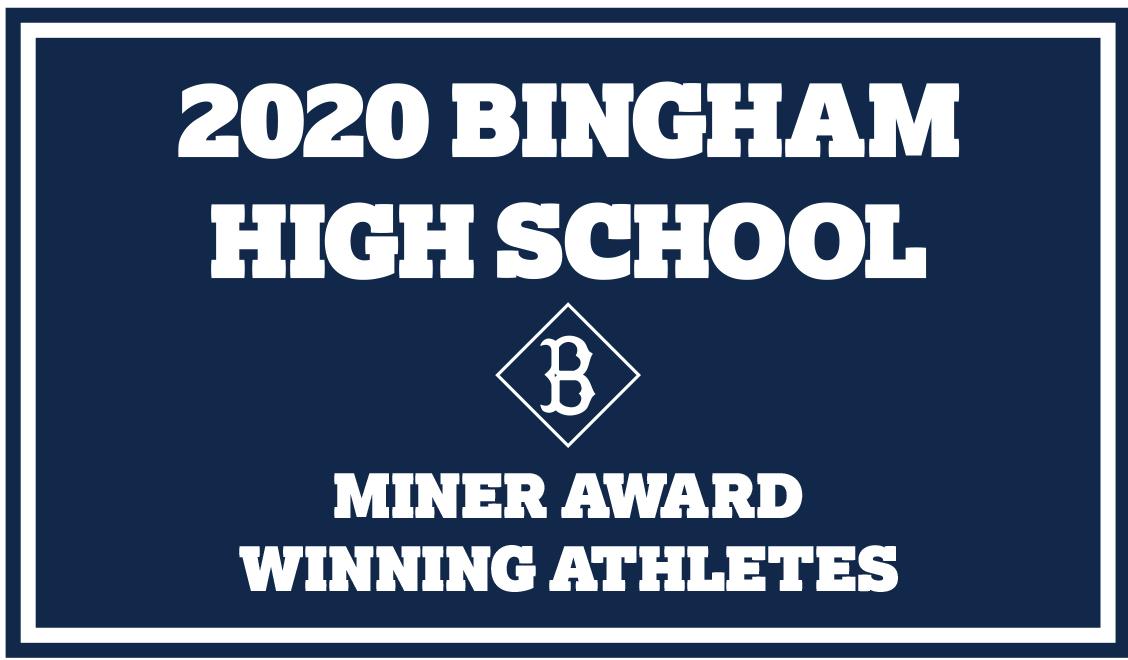 Miner Award Winning Athletes