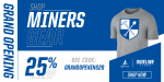 Shop Bingham Miners Gear – Grand Opening 25% Off Promo!