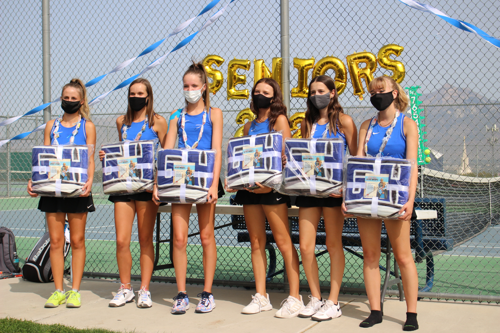 Girl's Tennis Bingham vs. Copper Hills 9/15/2020 Senior Day