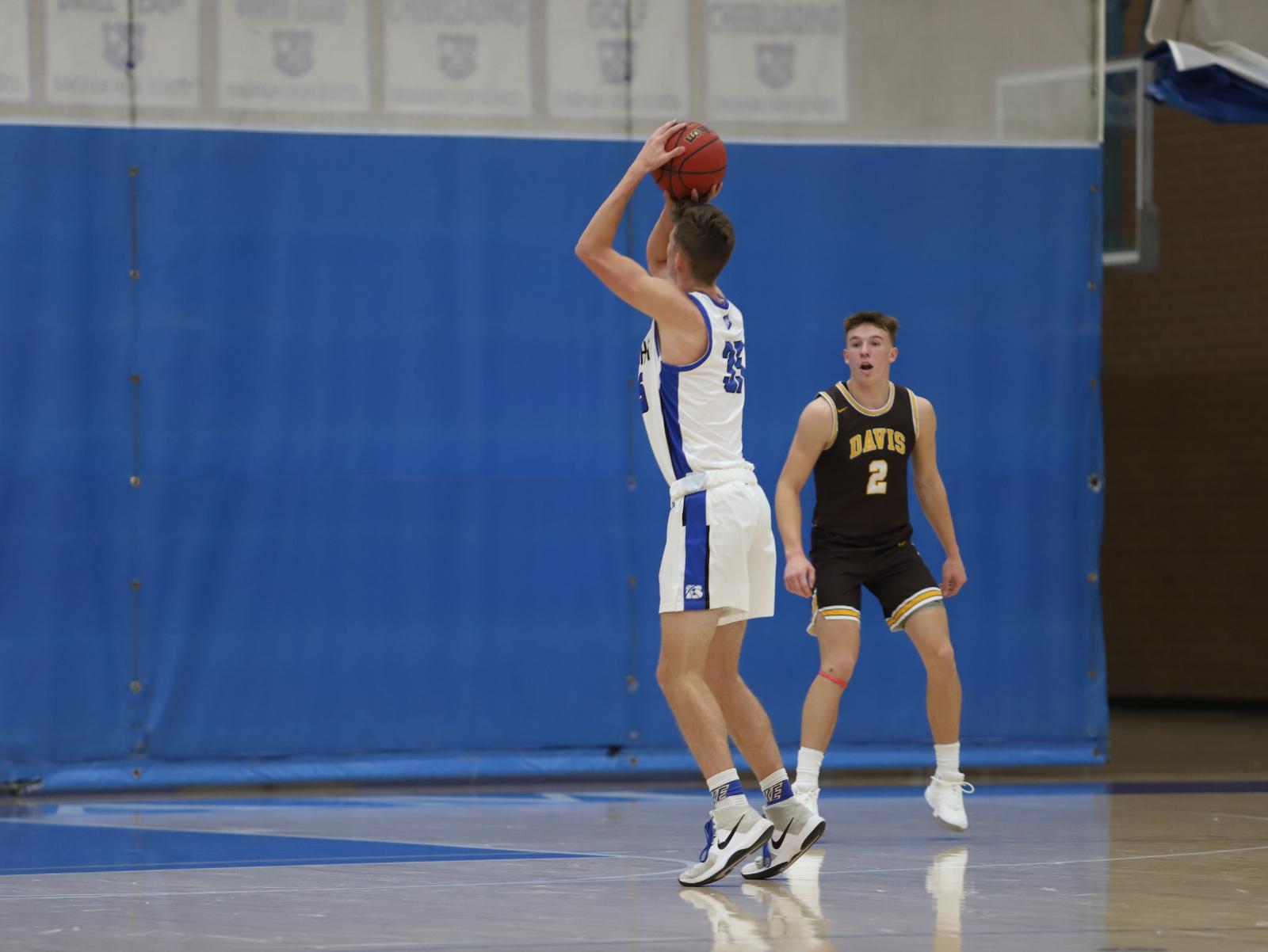 Boys Basketball vs. Davis HS Pics