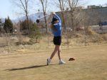 Girls Golf Battles in Gale Force Winds