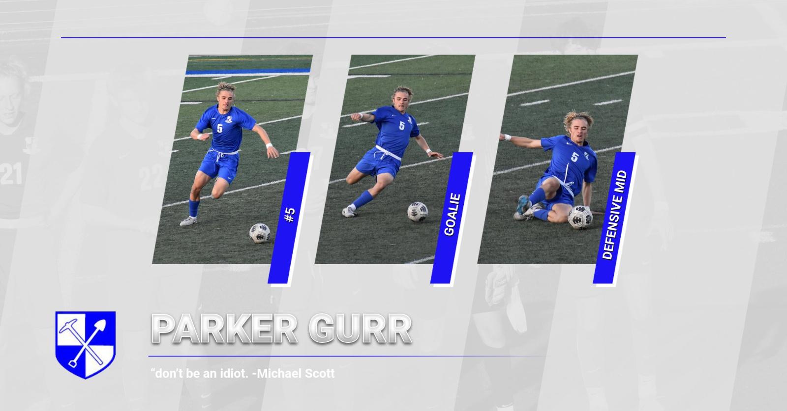 Senior Shoutout- Parker Gurr