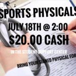 Summer Sports Physicals