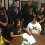Laura Jimenez is headed to Michigan