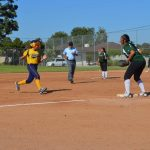 Softball undefeated in League at 5-0