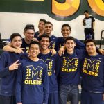 Boys' Volleyball start 2-0 in league.