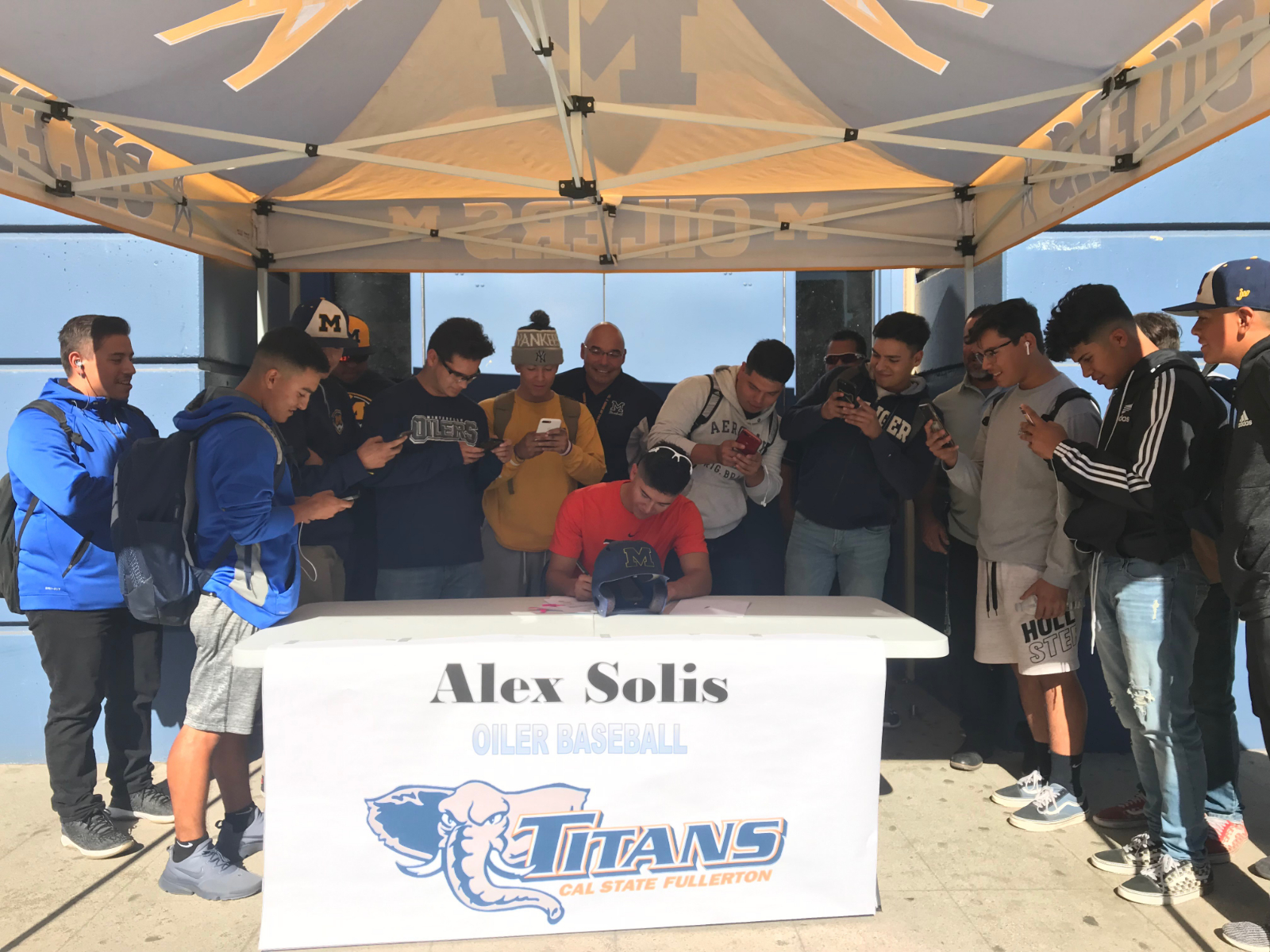 Alex Solis signs NLI to attend Cal. State Fullerton and play Baseball