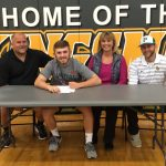 Baseball Player Alex Martin Signs with Western Oregon University.