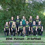 2016 JV Softball Team