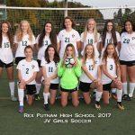 2017 JV Girls Soccer Team